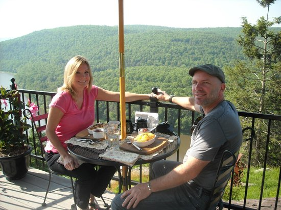 Ecce Bed and Breakfast : The view at breakfast