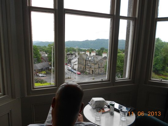 The Windermere Hotel: View from our room
