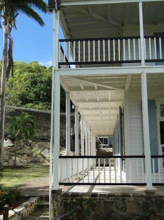 Nelson's Dockyard: Elegant verandahs - Museum
