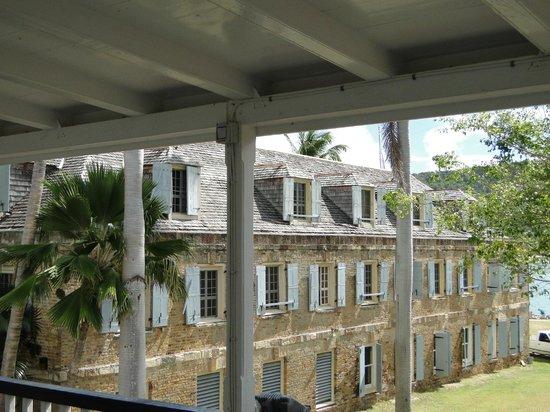 Nelson's Dockyard: View from the Museum verandah