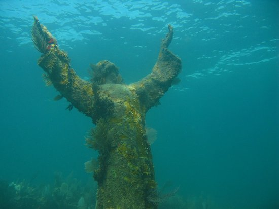 Silent World Dive Center : Christ of the Abyss