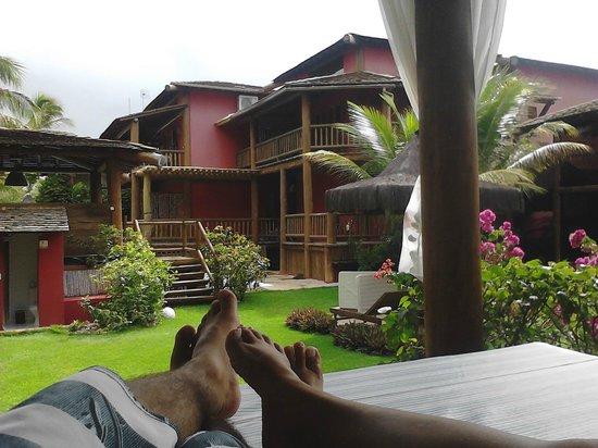 Pousada Aloha Brasil: Vista externa