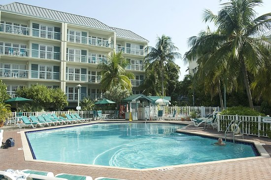 pool view picture of the galleon resort and marina key. Black Bedroom Furniture Sets. Home Design Ideas