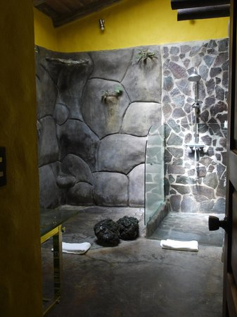 Hotel Mountain Paradise: bathroom showerS