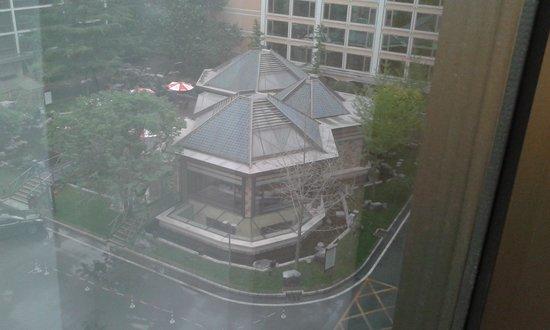 Yong An Hotel: z okna