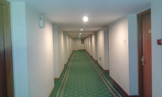 Yong An Hotel: korytarz