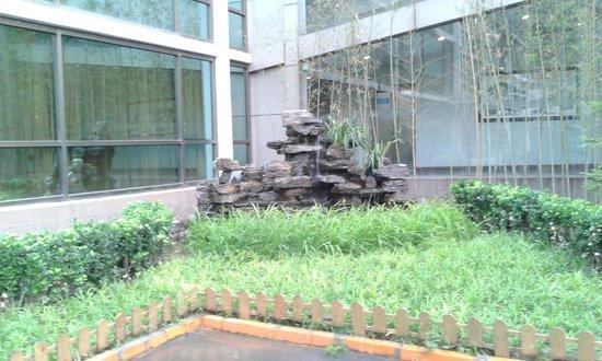 Yong An Hotel : fontanna