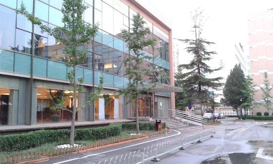 Yong An Hotel: Budynek recepcji i restauracji