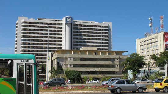 Brasilia Imperial Hotel e Eventos: Surrounded by larger hotels