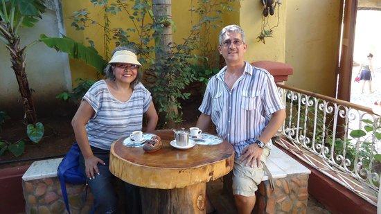 Cafe Don Pepe: Rico cafe