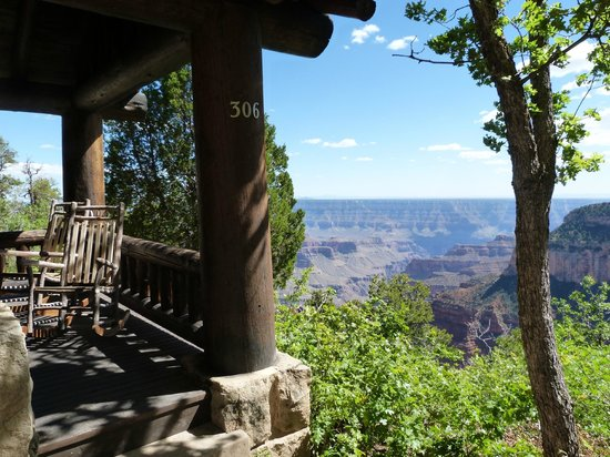 Daytime View From Cabin 306 Picture Of Grand Canyon