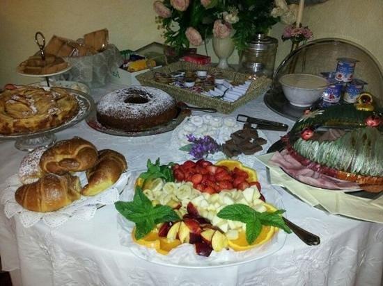 B&B Le Casette sul Garda: colazione...da provare