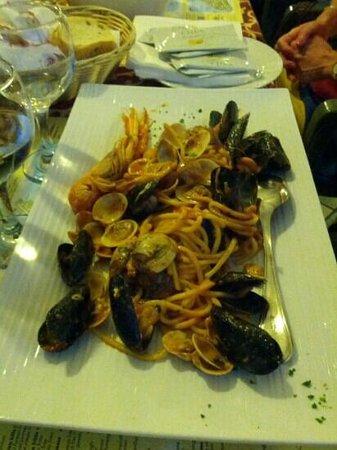 Ristorante Al Campiello: spaghetti allo scoglio!