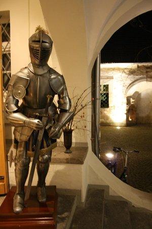 Wasserschloss Mellenthin: En väldigt gammal metallgubbe