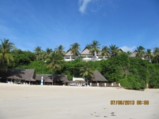 Mnarani Club & Spa: Mnarani Club beach and creek rooms