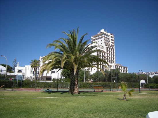 Silchoro Apartments: Grounds