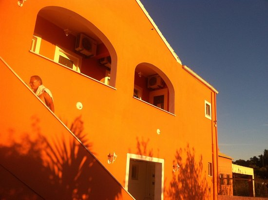Pension Christina : Villa Chtistina in the sunset