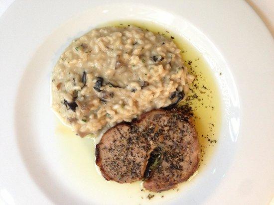 Brasserie Cote Cour: Seafood risotto