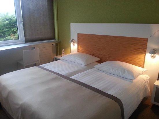 Le Leman Hotel : Habitación doble