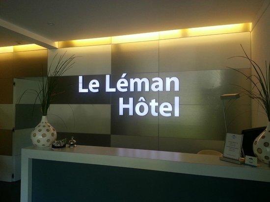 Le Leman Hotel : Recepción