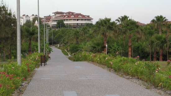 Bella Resort & Spa: Прогулочная дорога вдоль моря