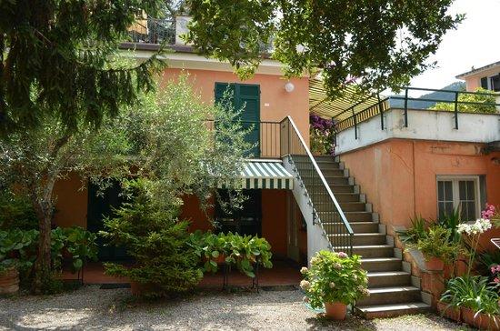 Villa Clelia Bed and Breakfast : The garden
