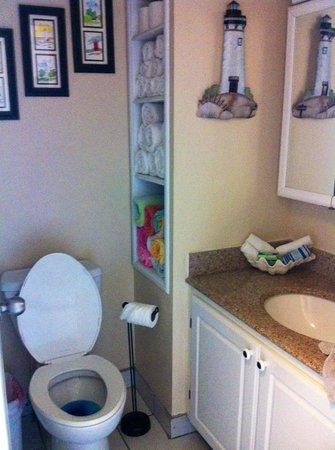 Beachers Lodge: Bathroom