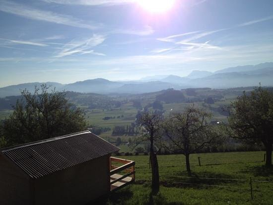 BnB Gantrisch : panoramic views all around