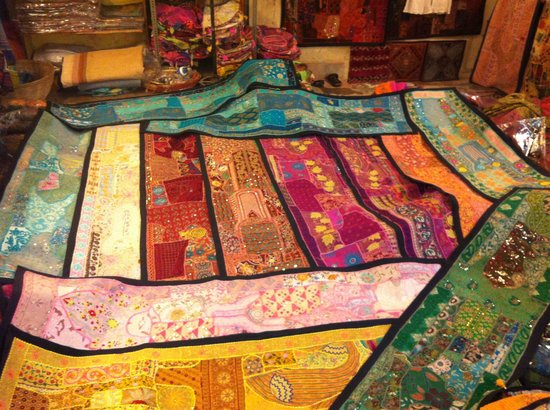 Beautiful Table Runners from Student Shop