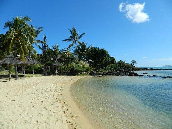 LUX* Grand Gaube: Part of the beach