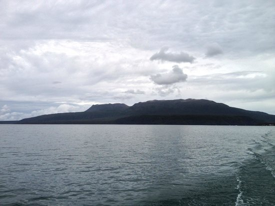 Mt. Tarawera: Mt Tarawera from the lake