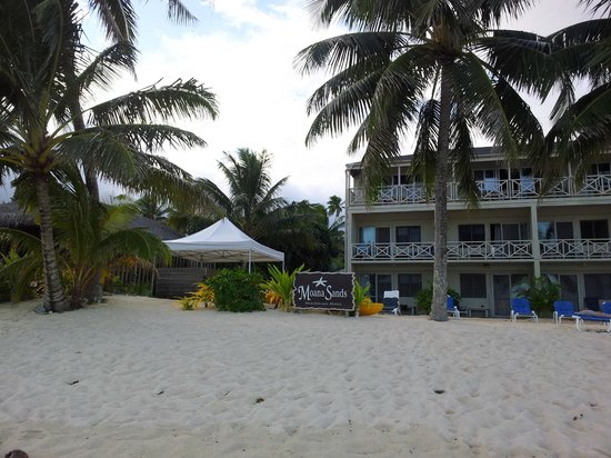 Moana Sands Beachfront Hotel & Villas: Moana Sands Hotel