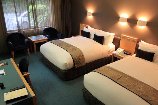 Scenic Hotel Franz Josef Glacier Hotel: Comfortable room
