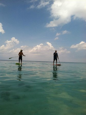 Cayman Stand Up Paddle Co: Lesson with Johnny
