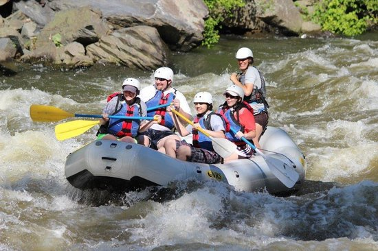 rafting on the pigeon river picture of big bear rafting hartford rh tripadvisor com