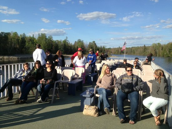 Rhinelander, WI: Relaxing on the WI River