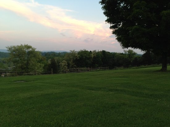 Alpine Motel: Sundown in the field