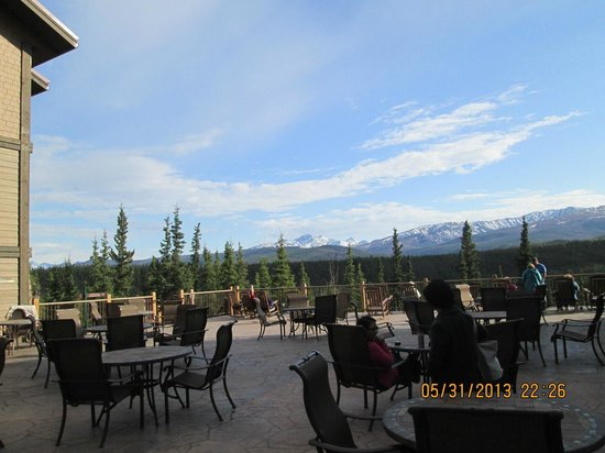 Denali Princess Wilderness Lodge: Patio