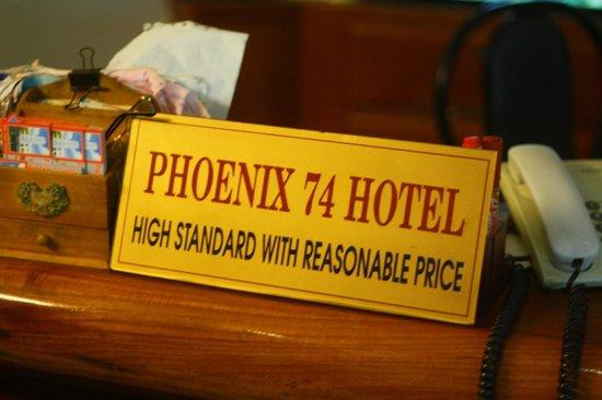 Phoenix 74 Hotel: 5