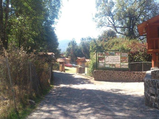 Cabanas El Estribo Hotel: Entrada