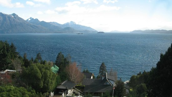 Apart Hotel Cabanas Balcon al Lago: Espectaculo maravilloso