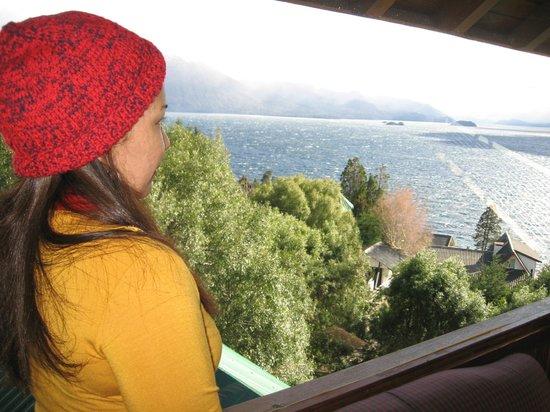 Apart Hotel Cabanas Balcon al Lago: Mirando al Lago