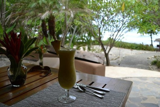 Florblanca Resort: Smoothie included with breakfast each morning