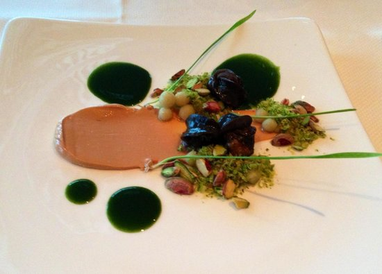 La Vision: Moers snails with foie gar