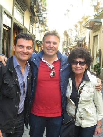 Palazzo Montefusco Sorrento : With the owner Ivan