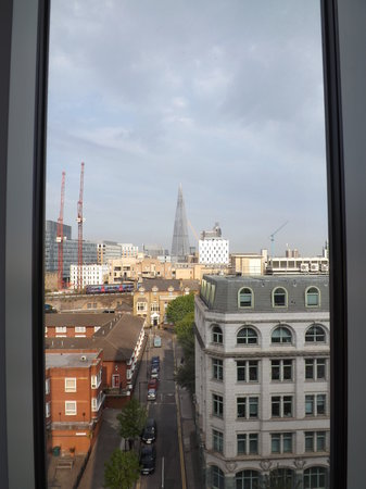 Novotel London Blackfriars: view from our room on 7th floor