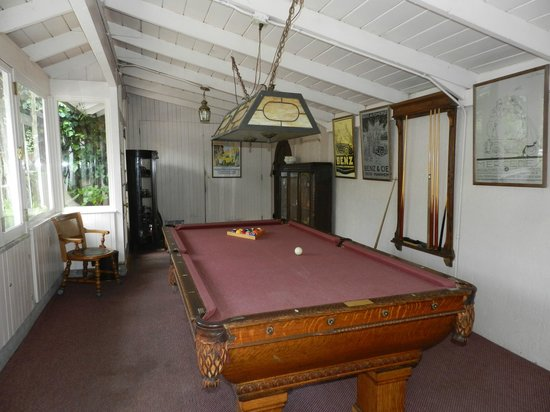 Martine Inn: Game room