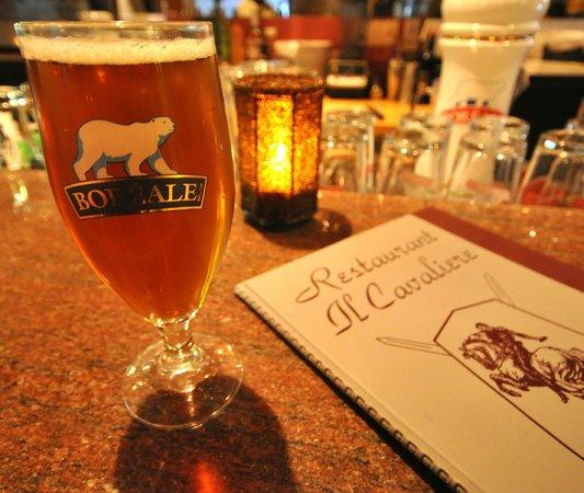Il Cavaliere: boréale beer always on special