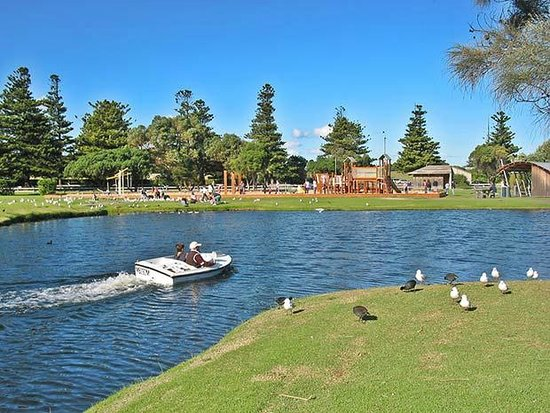Parque infantil del Lago Pertobe: Lake Pertobe Adventure Playground