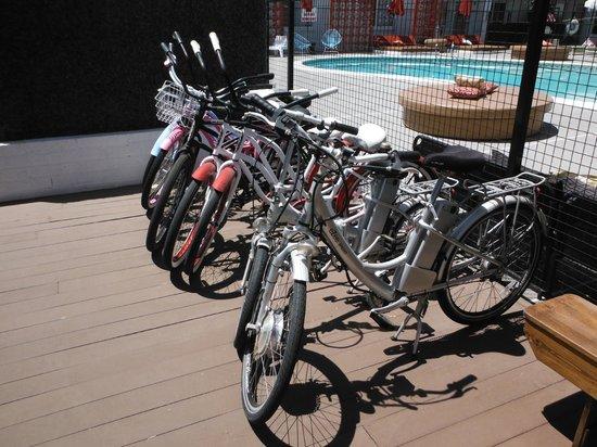 El Dorado Scottsdale: You can rent these bikes